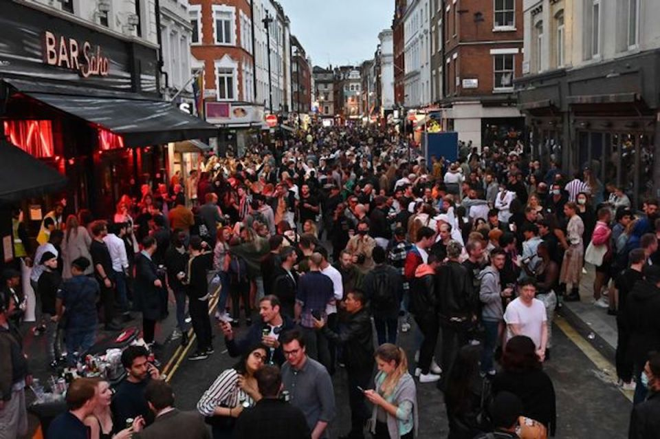 Post-Lockdown Pub Opening | Soho 04 July 2020 | Credit: Daily Mirror