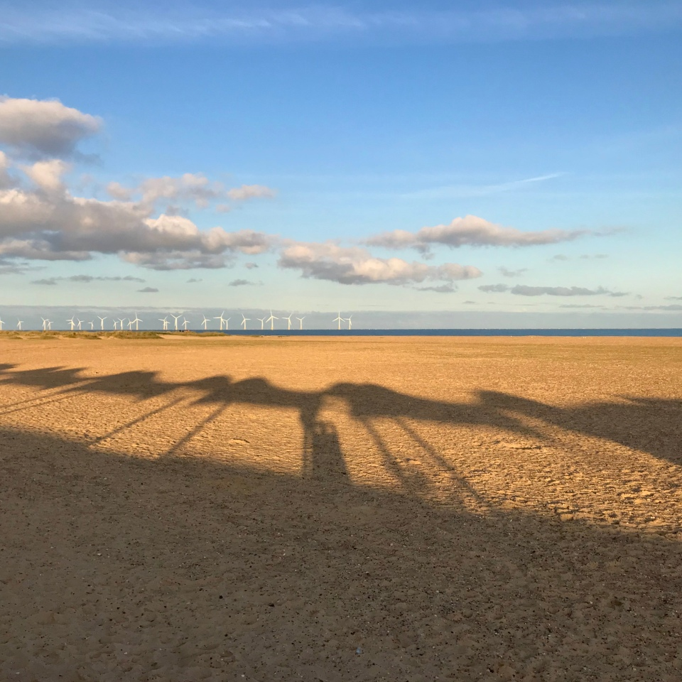 Postcards From Great Yarmouth | Beach Shadow 2020