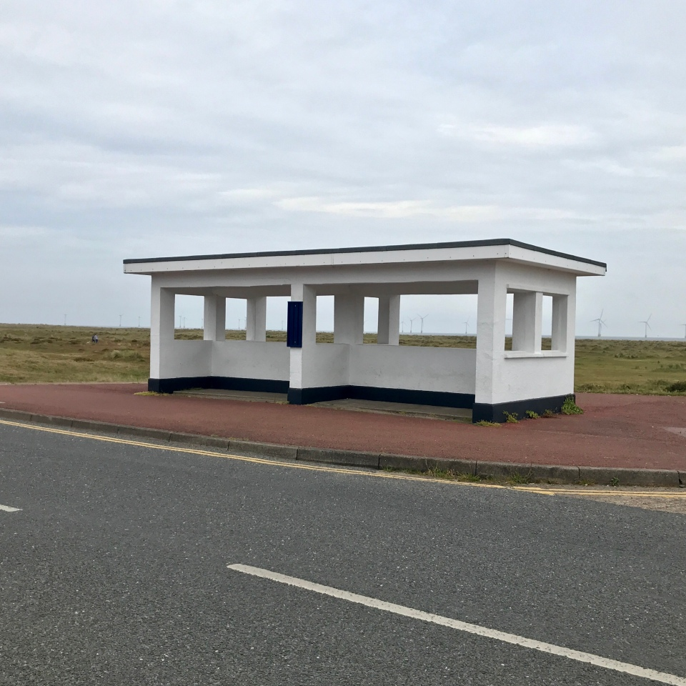 Postcards From Great Yarmouth | Windfarm Shelter 2020