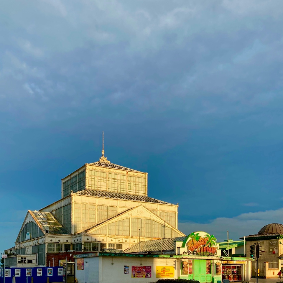 Postcards From Great Yarmouth | Winter Gardens Sunbathed 2020